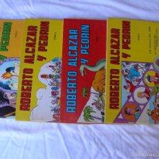 Tebeos: TEBEO. ROBERTO ALCAZAR Y PEDRIN. EDICION 1981 .TOMOS 1 AL 4 . CADA TOMO 4 EPISODIOS. NUEVAS FOTOS. Lote 60805767