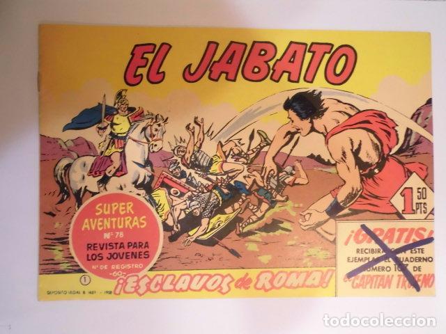 SUPERAVENTURAS - EL JABATO - NUM 1 - FACSIMIL - NUEVO (Tebeos y Comics - Tebeos Reediciones)