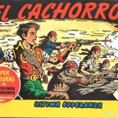 Tebeos: EL CACHORRO. JUAN GARCIA IRANZO.TOMO 21 CON LOS NUMS 161 AL 168. Lote 167146718