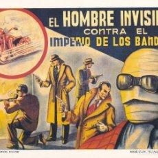 Tebeos: EL HOMBRE INVISIBLE CONTRA EL IMPERIO DE LOS BANDIDOS. COLECCIÓN DIAMANTE NEGRO 3. RIALTO. Lote 68157553
