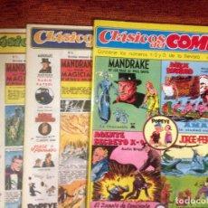 Tebeos: CLASICOS DEL COMIC - COLECCION COMPLETA 13 NÚMEROS - ED. COMPLOT 1988 - PERFECTO ESTADO. Lote 65011859