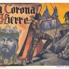 Tebeos: LA CORONA DE HIERRO. COLECCIÓN DIAMANTE NEGRO Nº4. CLÁSICO DEL CINE. Lote 65954498