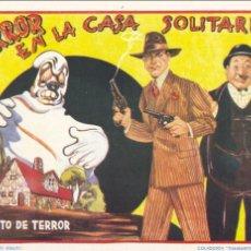 Tebeos: TERROR EN LA CASA SOLITARIA. CUENTO DE TERROR. COLECCIÓN DIAMANTE NEGRO Nº22.. Lote 66268690
