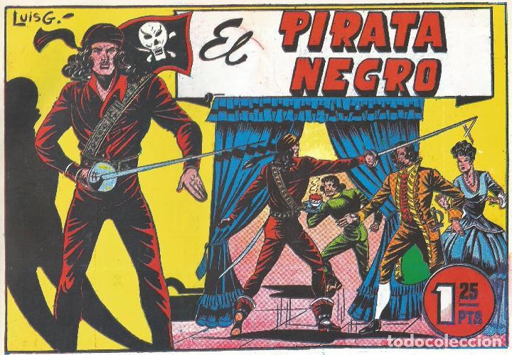 EL PIRATA NEGRO LUIS GAGO REEDICIÓN COMPLETA 10 Nº (Tebeos y Comics - Tebeos Reediciones)