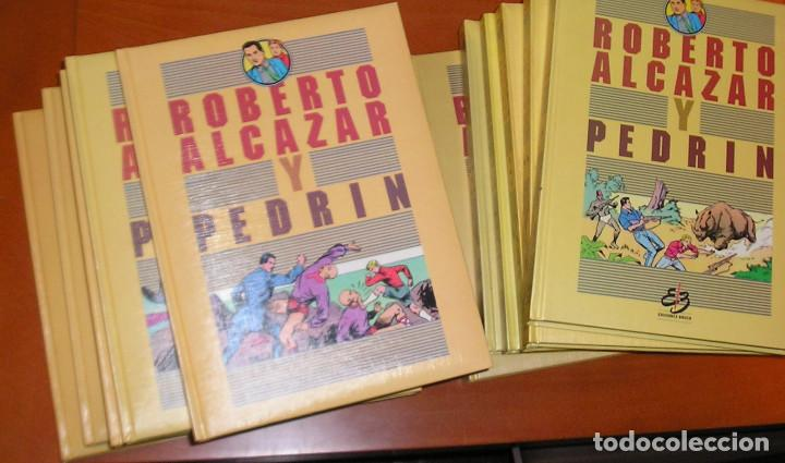 ROBERTO ALCAZAR Y PEDRIN,COMPLETA 1ª, 2ª SERIE,12 TOMOS.EDICIONES BRUCH (Tebeos y Comics - Tebeos Reediciones)