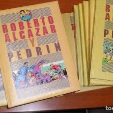 Tebeos: ROBERTO ALCAZAR Y PEDRIN,COMPLETA 1ª, 2ª Y 3ª SERIE,18 TOMOS EDICIONES BRUCH. Lote 68625929