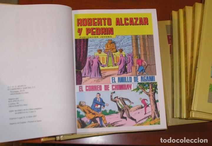 Tebeos: ROBERTO ALCAZAR Y PEDRIN,COMPLETA 1ª, 2ª SERIE,12 TOMOS.EDICIONES BRUCH - Foto 3 - 68625929