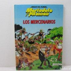BDs: MORTADELO Y FILEMON LOS MERCENARIOS - TAPA DURA AÑO 1995. Lote 69646861