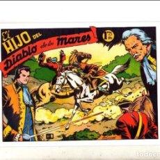 Tebeos: EL HIJO DEL DIABLO DE LOS MARES, COMPLETA 22 Nº. REEDICION. Lote 72392939