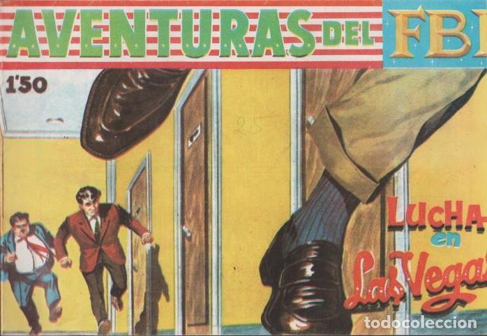 Tebeos: AVENTURAS DEL F.B.I. REEDICIONES FACSIMILARES CUADERNILLOS LOTE - Foto 2 - 29562304