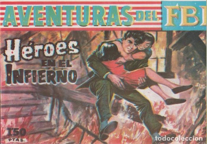 Tebeos: AVENTURAS DEL F.B.I. REEDICIONES FACSIMILARES CUADERNILLOS LOTE - Foto 3 - 29562304