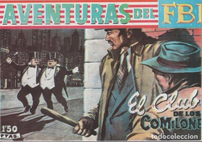 Tebeos: AVENTURAS DEL F.B.I. REEDICIONES FACSIMILARES CUADERNILLOS LOTE - Foto 4 - 29562304