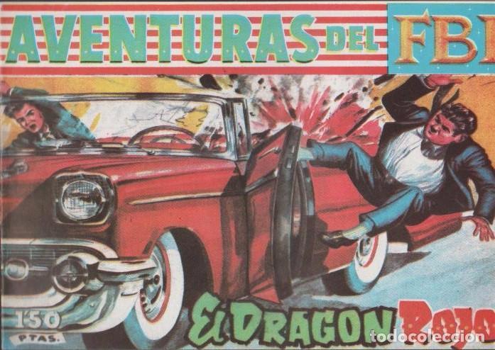 Tebeos: AVENTURAS DEL F.B.I. REEDICIONES FACSIMILARES CUADERNILLOS LOTE - Foto 5 - 29562304