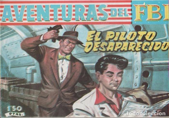Tebeos: AVENTURAS DEL F.B.I. REEDICIONES FACSIMILARES CUADERNILLOS LOTE - Foto 8 - 29562304
