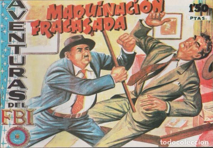 Tebeos: AVENTURAS DEL F.B.I. REEDICIONES FACSIMILARES CUADERNILLOS LOTE - Foto 15 - 29562304