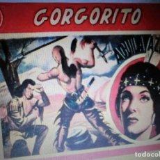 Tebeos: COLECCION DE GORGORITO,( COMPLETA 8 NUM), 1944,REEDICION. Lote 222127622