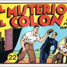 Tebeos: JUAN CENTELLA Nº 22. COLECCIÓN AUDAZ. EL MISTERIO DEL COLON. REEDICIÓN. Lote 76937913