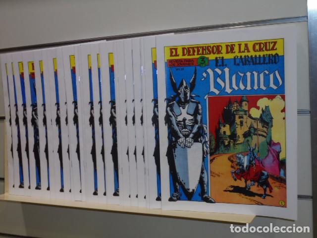 EL CABALLERO BLANCO COMPLETA 30 NUMEROS -EDITORIAL MAGA- REEDICION (Tebeos y Comics - Tebeos Reediciones)