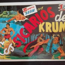 Tebeos: ZARPA DE LEON N. 4 TORAY REEDICCION LOS SICARIOS DE KRUM. Lote 78542245