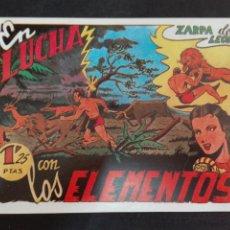 Tebeos: ZARPA DE LEON N. 5 TORAY REEDICCION LUCHA CON LOS ELEMENTOS. Lote 78542726