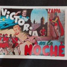 Tebeos: ZARPA DE LEON N. 8 TORAY REEDICCION VICTORIA EN LA NOCHE. Lote 78543047