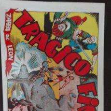 Tebeos: ZARPA DE LEON N. 25 TORAY REEDICCION. Lote 78576583