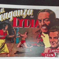 Tebeos: ZARPA DE LEON N.27 TORAY REEDICCION LA VENGANZA DE LIDIA. Lote 78576837