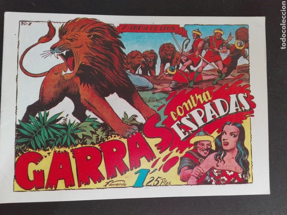 ZARPA DE LEON N. 30TORAY REEDICCION GUERRA CONTRA ESPADAS (Tebeos y Comics - Tebeos Reediciones)