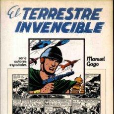 BDs: EL TERRESTRE INVENCIBLE. COLECCIÓN COMPLETA. 1 TOMO. Lote 81559280
