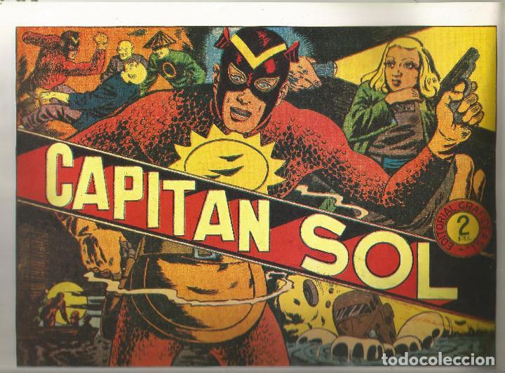 CAPITAN SOL REEDICIÓN COMPLETA 10 Nº (Tebeos y Comics - Tebeos Reediciones)