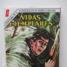 Tebeos: VIDAS EJEMPLARES - MONSEÑOR PLANCARTE. Lote 84666016