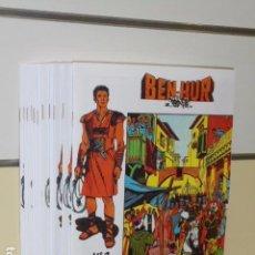 Tebeos: BEN-HUR COMPLETA 11 NUMS. EDICIONES GALAOR REEDICION OFERTA. Lote 147523108