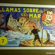 Tebeos: TEBEO - COMIC - LLAMAS.SOBRE EL MAR - JUAN CENTELLA - Nº 7 - ROA - 1998 - REEDICION. Lote 87054264