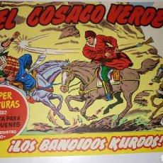 Tebeos: EL COSACO VERDE, 144 NÚMEROS MÁS EL ALMANAQUE Y EL EXTRA DE VERANO AMBOS DE 1961.. Lote 173531972