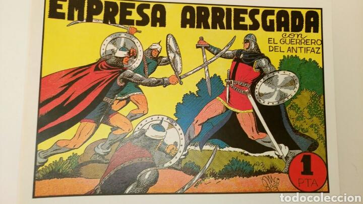 EL GUERRERO DEL ANTIFAZ, 61 NÚMEROS, REEDITADOS, DEL 42 AL 102. (Tebeos y Comics - Tebeos Reediciones)