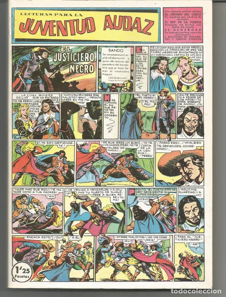 LECTURAS PARA LA JUVENTUD AUDAZ EDITORIAL VALENCIANA REEDICIÓN 2 TOMOS (Tebeos y Comics - Tebeos Reediciones)
