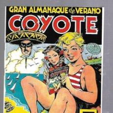 Tebeos: GRAN ALMANAQUE DE VERANO COYOTE. Nº 25. LOS MEJORES AVENTURAS, CHISTES, HISTORIETAS Y PASATIEMPOS. Lote 89809828
