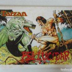 Tebeos: TARZAN - PELLUCIDAR - EL MUNDO DESCONOCIDO - BURNE HOGARTH E DAN BARRY. Lote 90072560