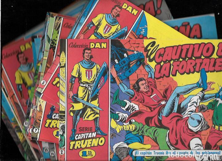EL CAPITÁN TRUENO - LOTE 25 NºS DIFERENTES (Tebeos y Comics - Tebeos Reediciones)