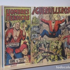 Tebeos: HOMBRES HEROICOS COMPLETA 30 NUM. REEDICION - MAGA. Lote 194382440