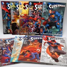 Tebeos: SUPERMAN - 8 TOMOS + AÑO CERO - DC COMICS. Lote 91934745