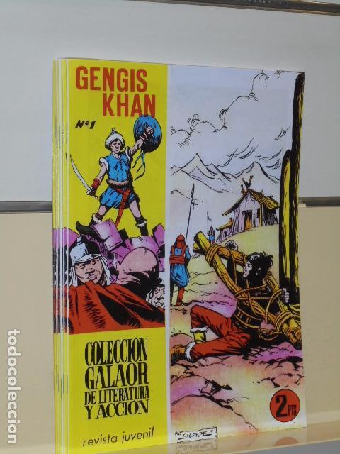 GENGIS KHAN COMPLETA 6 NUM. REEDICION (Tebeos y Comics - Tebeos Reediciones)
