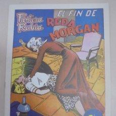 Tebeos: TEBEO. PANTERA RUBIA. Nº 45. EL FIN DE REDA MORGAN. Lote 95342207