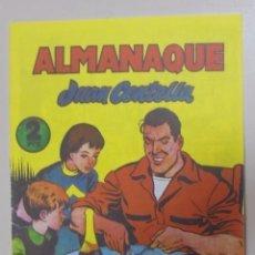 Tebeos: TEBEO. ALMANAQUE. JUAN CENTELLA. 1956. REEDICION. Lote 95513515