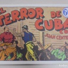 Tebeos: TEBEO. EL TERROR DE CUBA CON JUAN CENTELLA. REEDICION. Lote 95513839