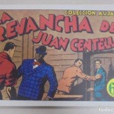 Tebeos: TEBEO. LA REVANCHA DE JUAN CENTELLA. COLECCION AUDAZ. REEDICION. Lote 95513859