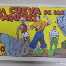 Tebeos: TEBEO. LA CUEVA DE LOS FAQUIRES CON JUAN CENTELLA. REEDICION. Lote 95514251