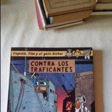 Tebeos: EUGENIO, TINA Y EL GATO ARTHUR CONTRA LOS TRAFICANTES. EDITORIAL TELEXIN 1985. Lote 95948115