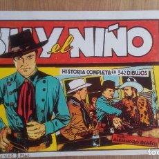 Tebeos: BILLY EL NIÑO. ALEJANDRO BLASCO. HISTORIA COMPLETA. Lote 96074635