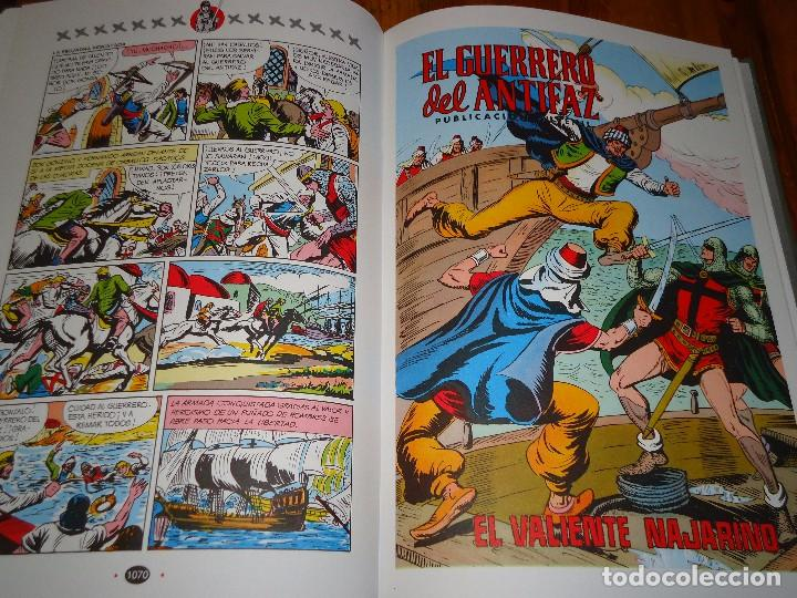 COLECCION COMPLETA DEL GUERRERO DEL ANTIFAZ 34 TOMOS A COLOR NUEVA (Tebeos y Comics - Tebeos Reediciones)